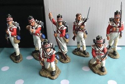 King and Country 71st Highlanders set of 7