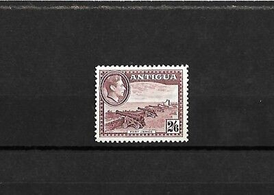 Antigua - KGVI stamp - 2s6d value- H/Mint -  1938