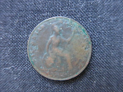 1826   Queen Milled  Halfpenny,   a nice old coin.