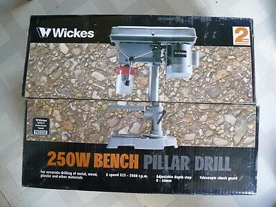 Whickes Bench  Pillar drill