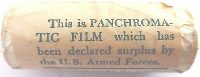 U.S ARMED FORCES WWII SURPLUS PANATOMIC 127 FILM EXPIRED 1940's  BLACK AND WHITE