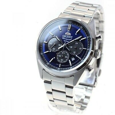 ORIENT watch NEO 70's SOLAR PANDA Royal Blue WV0021TX EMS Express delivery