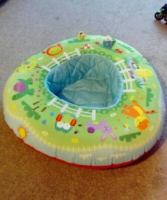 inflatible baby play ring