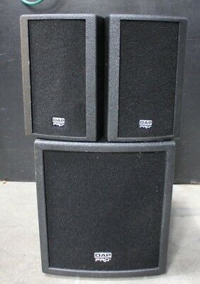 Set of two DAP Club Mate 12 PA systems