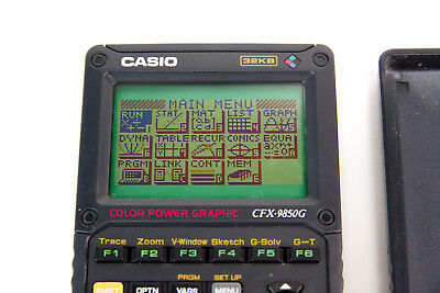 Casio CFX-9850G Colour Graphical Calculator - FREE UK DELIVERY