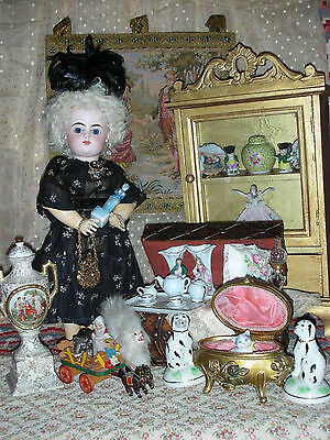 "Antique 13""  French F G Doll"