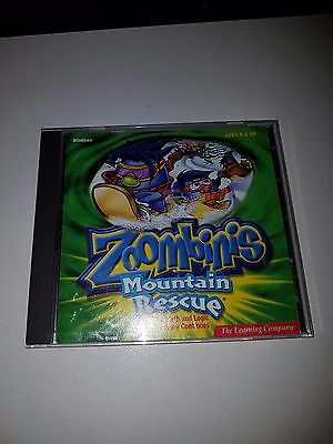 The Zoombinis Mountain Rescue Educational Pc Cd Rom For Ages 8 And Up