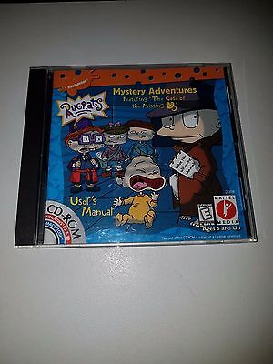 The Rugrats Mystery Adventure Windows & Mac Educational Cd Rom Ages 6 And Up
