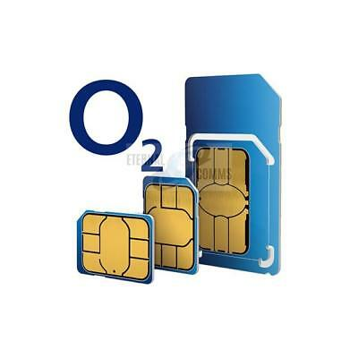Payg O2 Multi Sim Card For Apple Iphone 6S - Sent Same Day By 1St Class Post