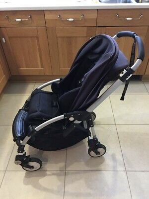 Bugaboo Bee Stroller In Smart Black With Aluminium Frame