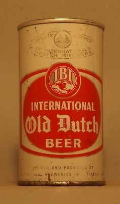 ZIP TAB INTACT! Gorgeous Old Dutch Beer Can - Findlay, OH - No Reserve!