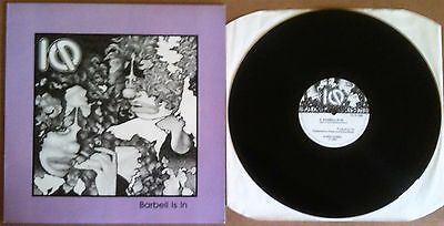 "IQ – Barbell Is In Sahara Records 1Q 12 1002 UK 1984 12"" EX/EX A1/B1"