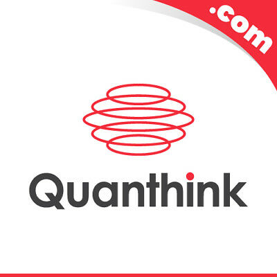 No Reserve: Quanthink.com - Cool Brandable Domain Name for Sale! GoDaddy