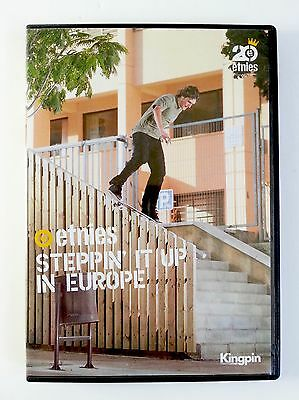 Etnies - Steppin It Up In Europe - Vintage 2005 Skate Video/dvd - Euro Comps
