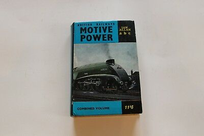 Ian Allan ABC British Rail Motive Power Combined Volume - Very good condition