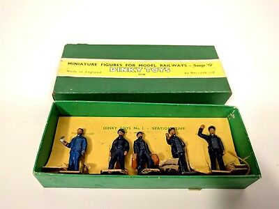 Dinky Toys No.1 Station Staff Gauge O, Boxed.