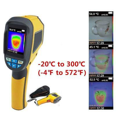 Precision Protable Thermal Imaging Camera Infrared Thermometer Imager HT-02 #I