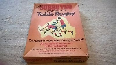 Subbuteo Table Rugby International Edition