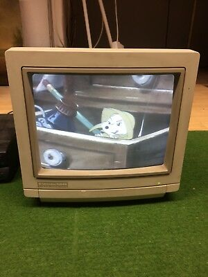 Commodore 1084S Video Monitor geht, Original Karton