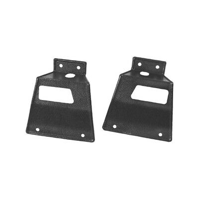 67 - 68 Mustang Rear Seat Latch Cover - With Fold Down / Pair