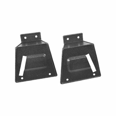 67 - 68 Mustang Rear Seat Latch Cover - Without Fold Down / Pair