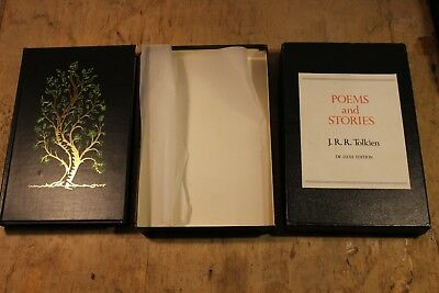 Poems and Stories by J. R. R. Tolkien Deluxe Edition (Hardback, 1980)