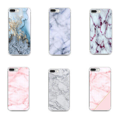 Phone Cover Case For Samsung Galaxy Marble Rubber Ultra Clear Silicone Soft TPU