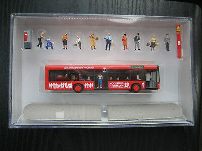 Neu Preiser Figuren HO Superset 13009 Stadtbus City bus Bus de ville