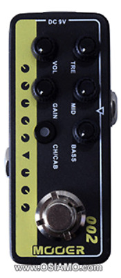 Mooer Micro Preamp Uk Gold 002 New Auth Dealer Free Shipping!!
