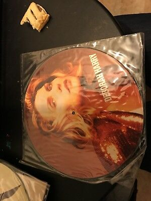 "DEBORAH HARRY (BLONDIE) -  I Want that Man UK 12"" Picture Disc - UNPLAYED"