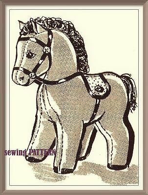 PN040 Pony//Horse Toy// Pin Cushion Sewing Pattern