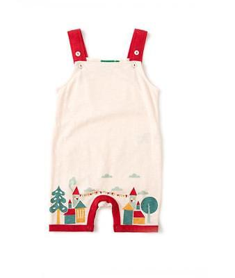 Little Green Radicals House On The Hill Dungarees 0 3 6 9 12 18 24 LGR Organic