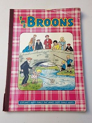 Vintage The Broons Annual1969 D C Thomson