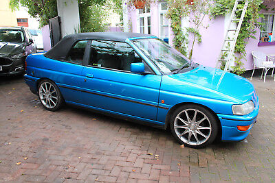 Ford escort XR3 i convertible 1992 , 86,000 miles full service history ,new mot