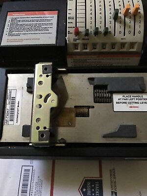 Texaco Addressograph Vintage credit card Imprinter