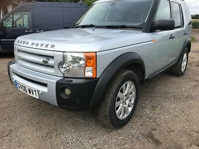 2006 Landrover  Discovery 3 Se. Leather.sat/nav.103,000 Miles Lots Of History