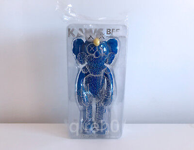 New KAWS BFF Blue Vinyl - MoMa Exclusibe - 2017 Open Edition - In Hand Ships Now