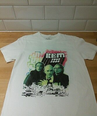 REM Tour shirt vintage 2008 small