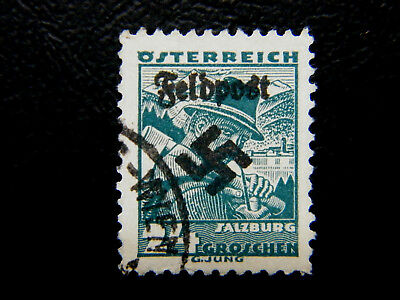 Local Deutsches Reich WWll Occ overprint Feldpost Osterreich used