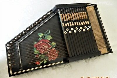 Zither Autoharp German made 32 strings all complete