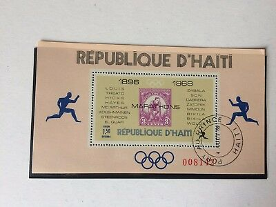 stamp republique d'haiti 1969 Airmail - Winners of Olympic ......