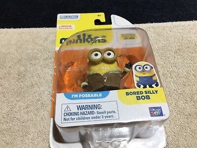 """Despicable Me Minions Movie Bored Silly Bob 2"""" Action FIgure"""