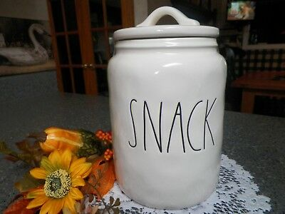 Rae Dunn *snack* Jar Container Farmhouse