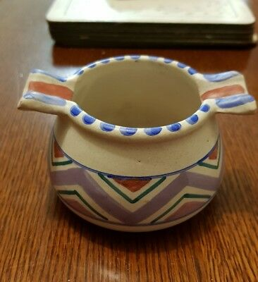 Honiton Pottery Devon Hand Painted Pot 1950s
