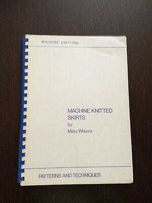 Machine Knitted Skirts by Mary Weaver -Knitting Machine Brother, Knitmaster, etc