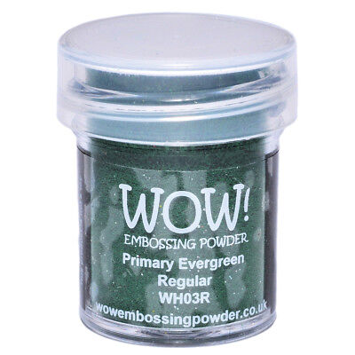 WOW! Embossing Powder 15ml Evergreen WOW-WH03R