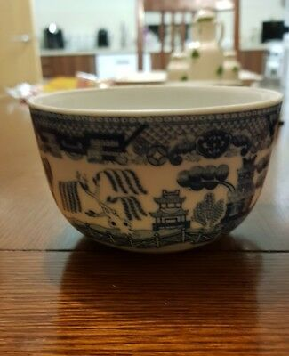 Japanese blue and white cup teacup