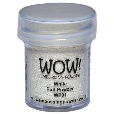WOW! Embossing Powder 15ml White Puff WOW-WP01