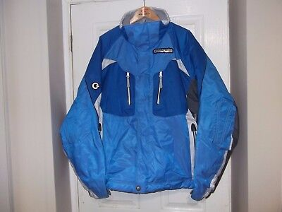GOLDWIN BLUE AND GREY SKI JACKET SIZE USA 3XL UK 48 IN VGC see photos