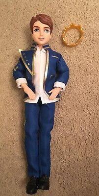 Disney Descendants Ben Prince Doll Auradon Prep King, Excellent Condition